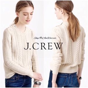 J. Crew perfect cable knit sweater